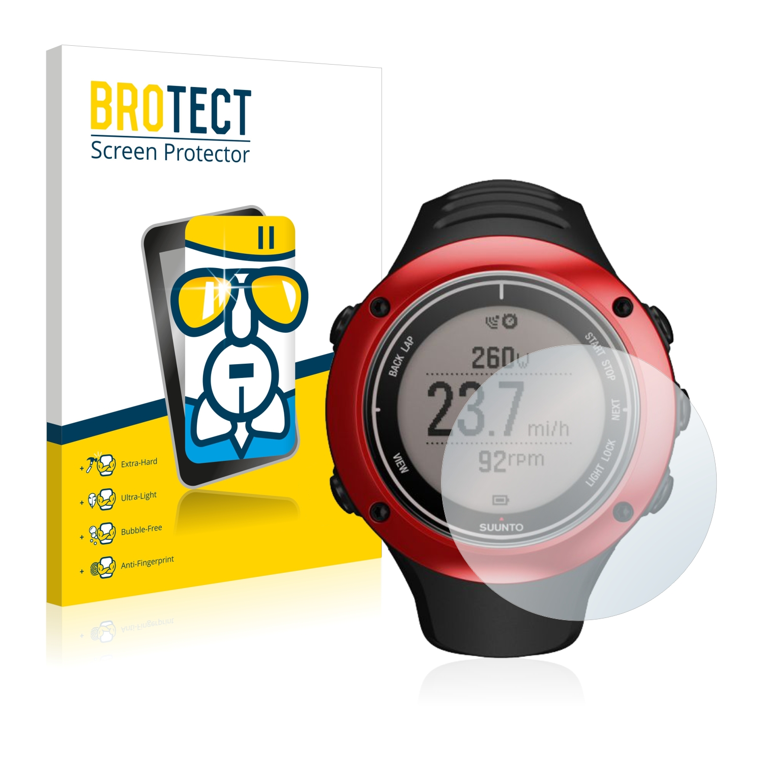 Suunto Ambit2 S Red Best Glass Screen Protector Ultra Thin