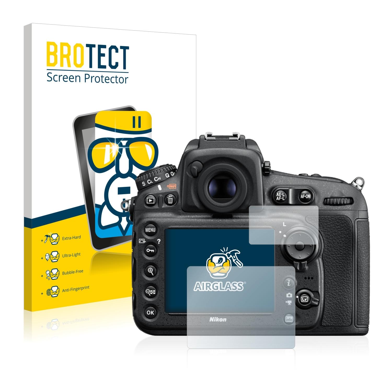 BROTECT AirGlass čirá skleněná fólie pro Nikon D810