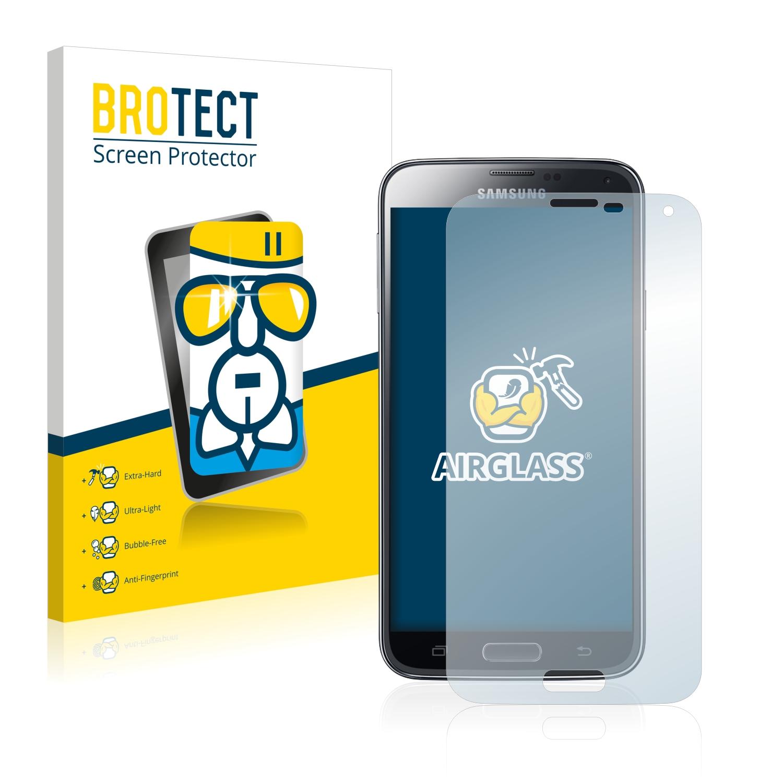 BROTECT AirGlass čirá skleněná fólie pro Samsung Galaxy S5 Duos LTE SM-G900FD