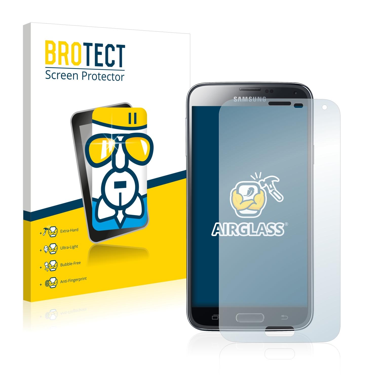 BROTECT AirGlass čirá skleněná fólie pro Samsung Galaxy S5 Duos SM-G9009D