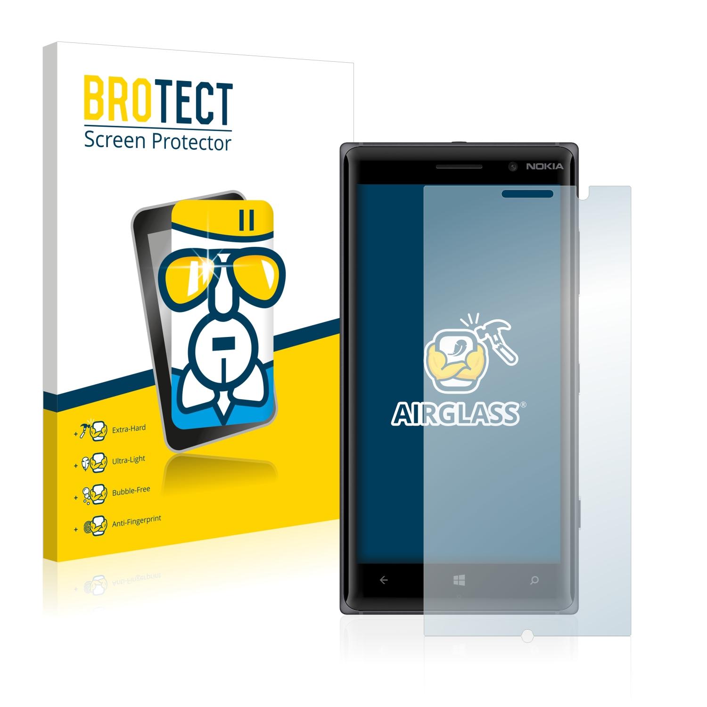 BROTECT AirGlass čirá skleněná fólie pro Nokia Lumia 830