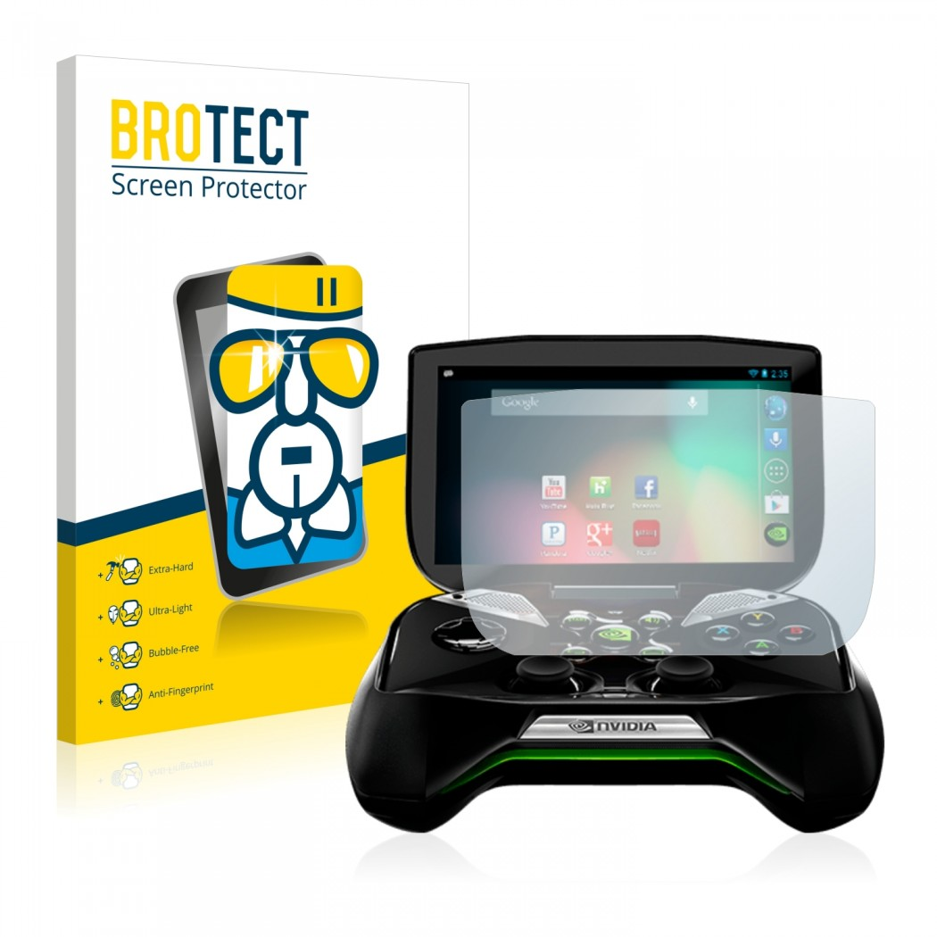 BROTECT® AirGlass® Glass Screen Protector for Nvidia Shield Portable