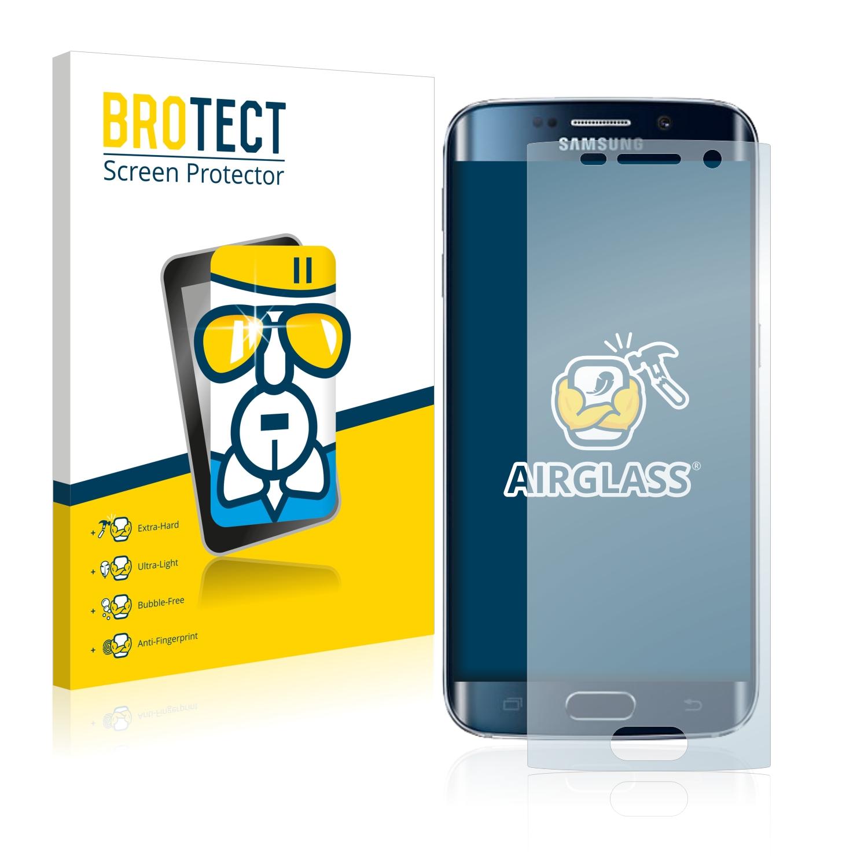 BROTECT AirGlass čirá skleněná fólie pro Samsung Galaxy S6 Edge