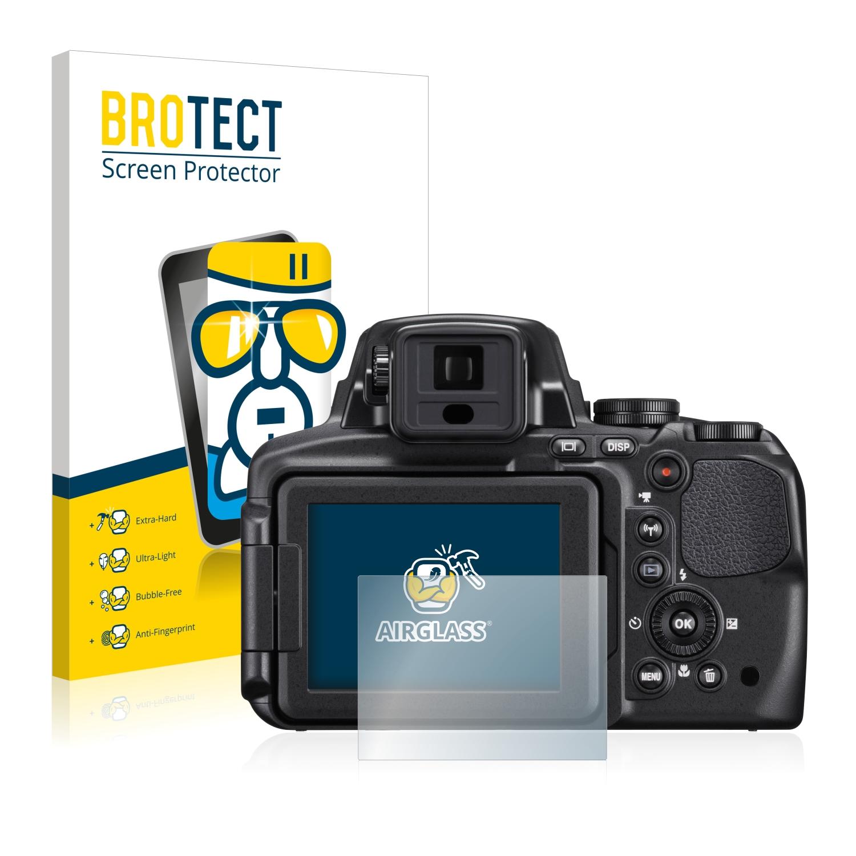 BROTECT AirGlass čirá skleněná fólie pro Nikon Coolpix P900