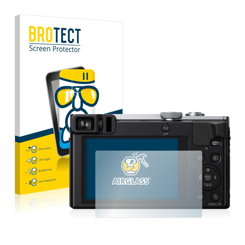 BROTECT AirGlass čirá skleněná fólie pro Panasonic Lumix DMC-TZ58