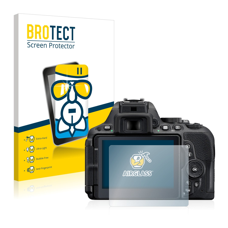 BROTECT AirGlass čirá skleněná fólie pro Nikon D5500