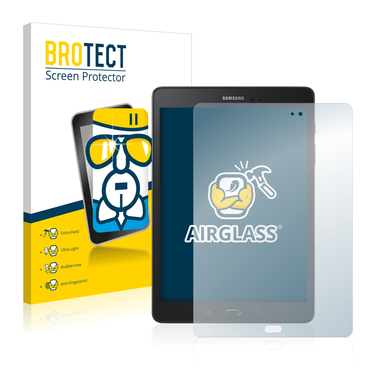 BROTECT AirGlass čirá skleněná fólie pro Samsung Galaxy Tab A 9.7