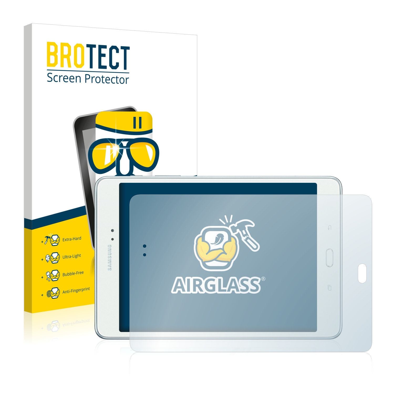 BROTECT AirGlass čirá skleněná fólie pro Samsung Galaxy Tab A 8.0