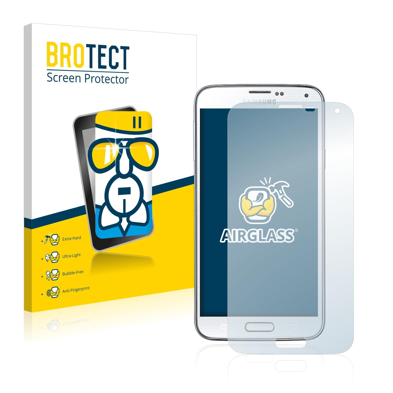 BROTECT AirGlass čirá skleněná fólie pro Samsung Galaxy S5 Neo