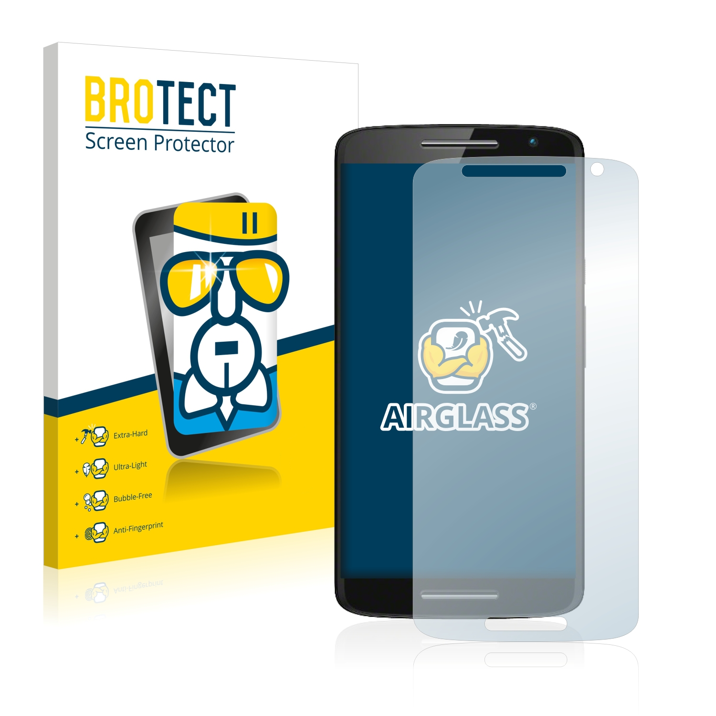BROTECT AirGlass čirá skleněná fólie pro Motorola Moto X Play