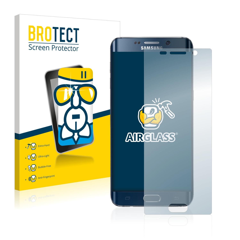 BROTECT AirGlass čirá skleněná fólie pro Samsung Galaxy S6 Edge Plus