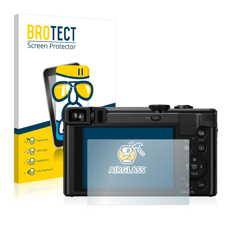 BROTECT AirGlass čirá skleněná fólie pro Panasonic Lumix DMC-TZ81