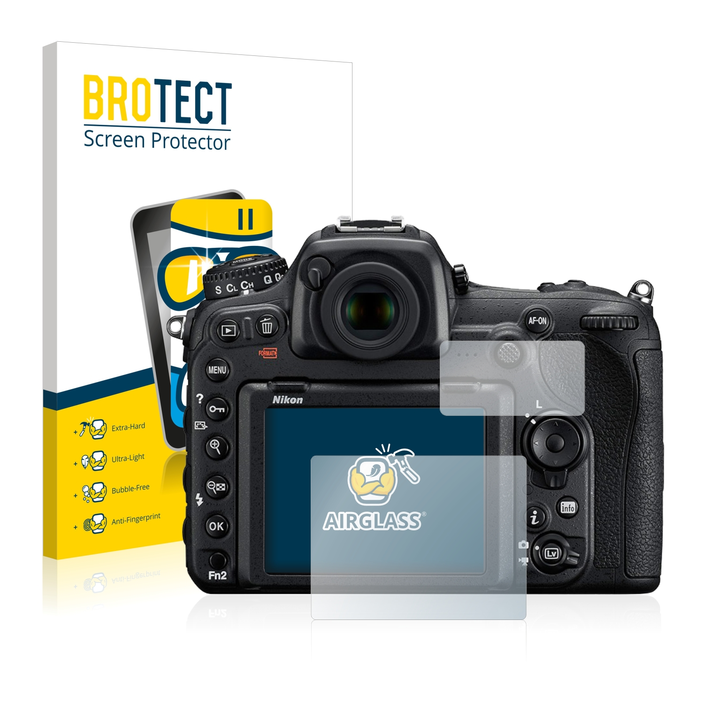 BROTECT AirGlass čirá skleněná fólie pro Nikon D500