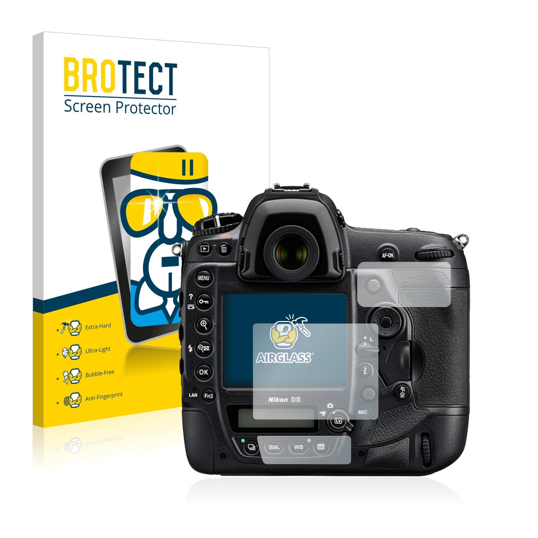 BROTECT AirGlass čirá skleněná fólie pro Nikon D5