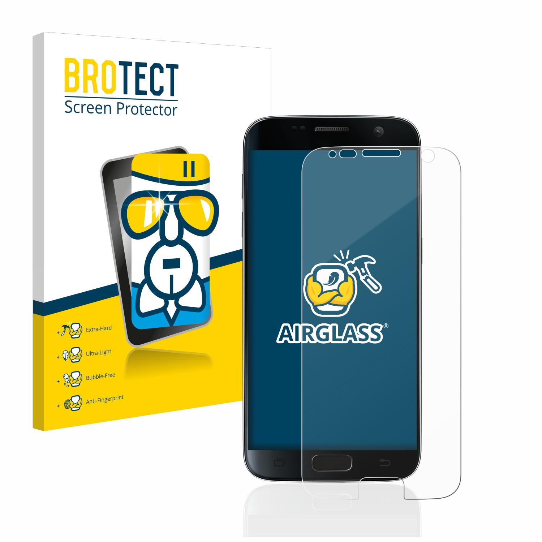 BROTECT AirGlass čirá skleněná fólie pro Samsung Galaxy S7