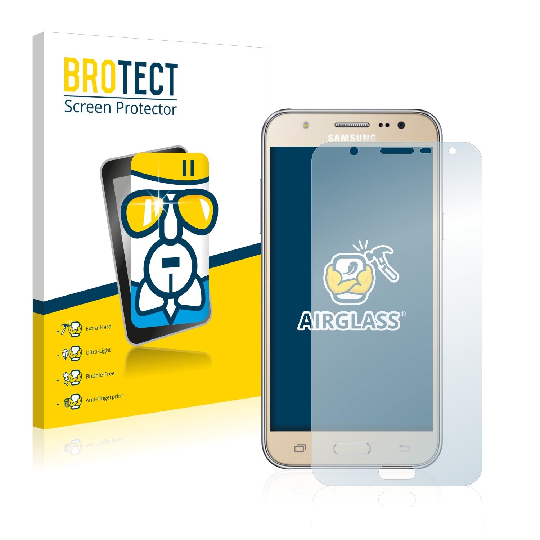 BROTECT AirGlass čirá skleněná fólie pro Samsung Galaxy J7 2016