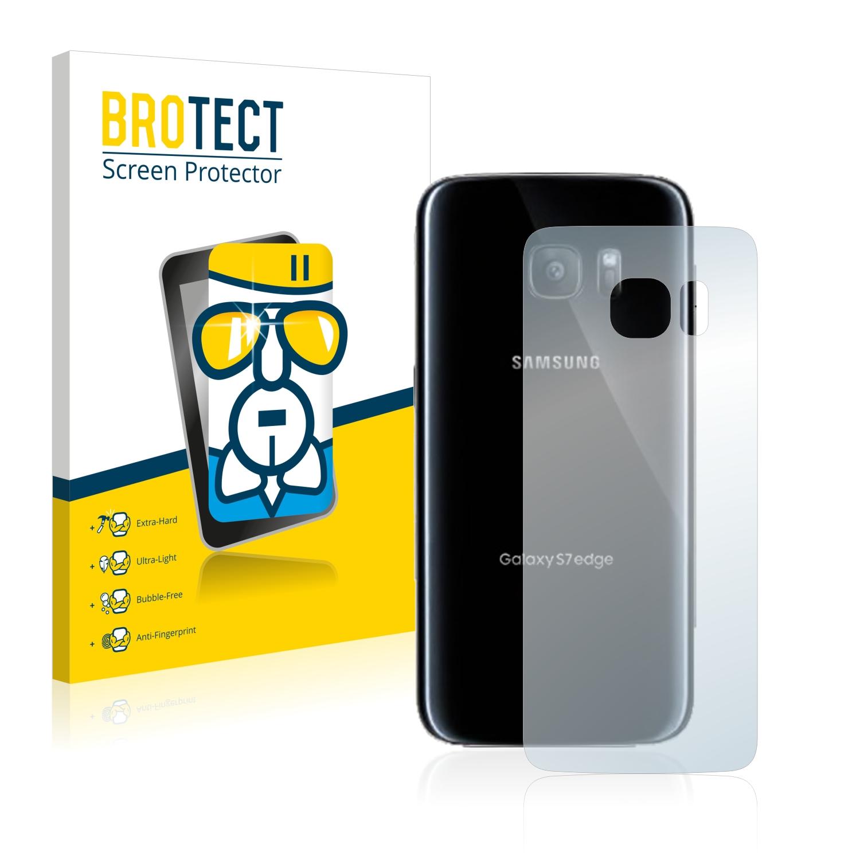 BROTECT AirGlass čirá skleněná fólie pro Samsung Galaxy S7 Edge (zadní strana)