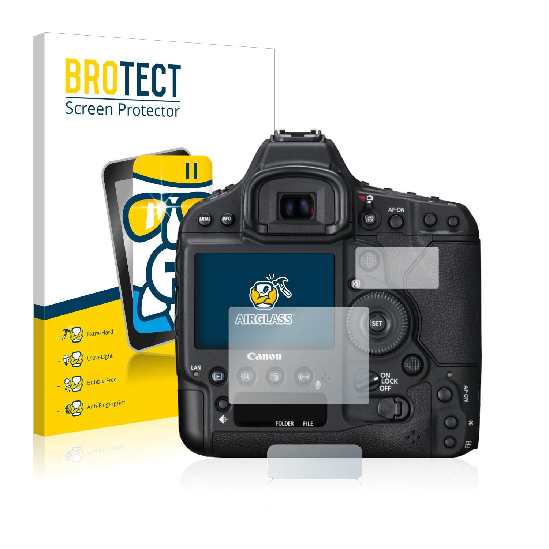 2x Proteggi Schermo Opaco per Canon Digital IXUS 105 Pellicola Protettiva Display Pellicola