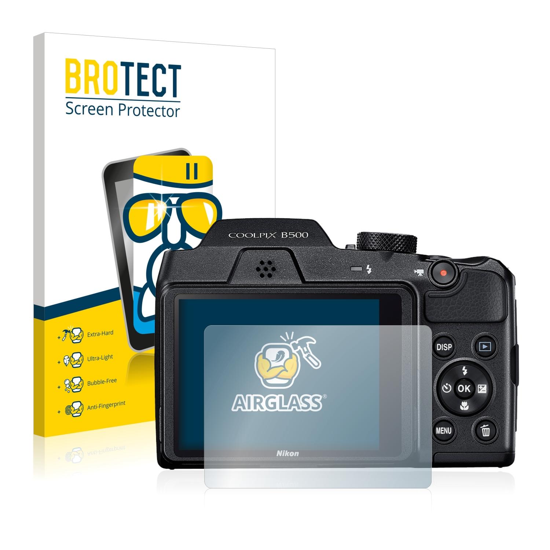 BROTECT AirGlass čirá skleněná fólie pro Nikon Coolpix B500