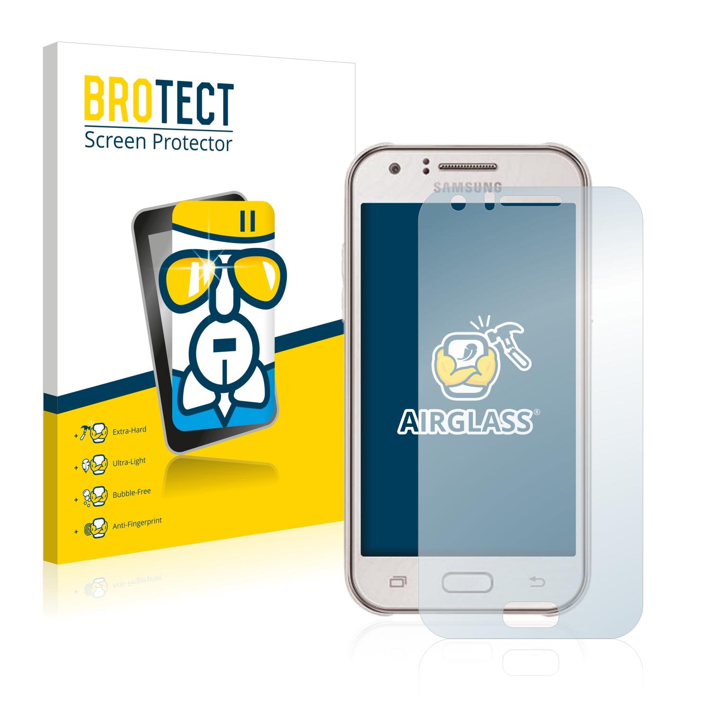 BROTECT AirGlass čirá skleněná fólie pro Samsung Galaxy J1 Mini