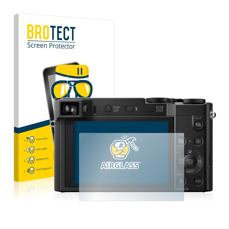 BROTECT AirGlass čirá skleněná fólie pro Panasonic Lumix DMC-TZ100EB