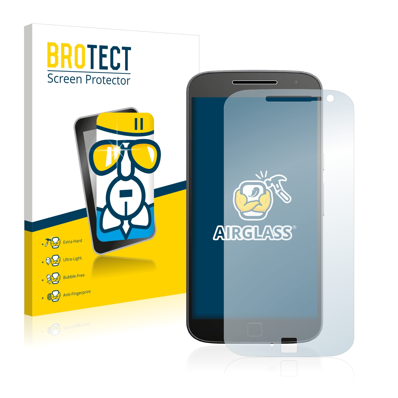 BROTECT AirGlass čirá skleněná fólie pro Motorola Moto G4 Plus