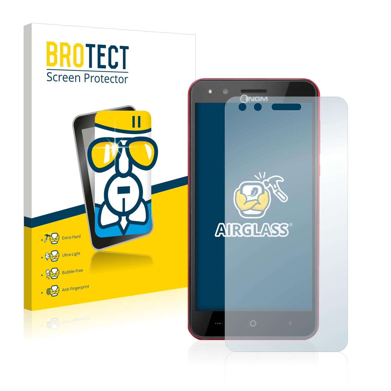 BROTECT AirGlass čirá skleněná fólie pro NGM You Color E505 Plus