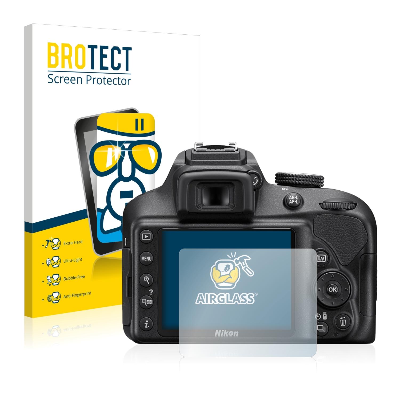 BROTECT AirGlass čirá skleněná fólie pro Nikon D3400