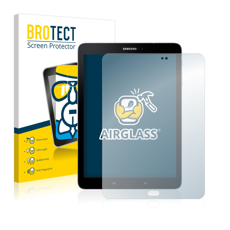 BROTECT AirGlass čirá skleněná fólie pro Samsung Galaxy Tab S3 WiFi