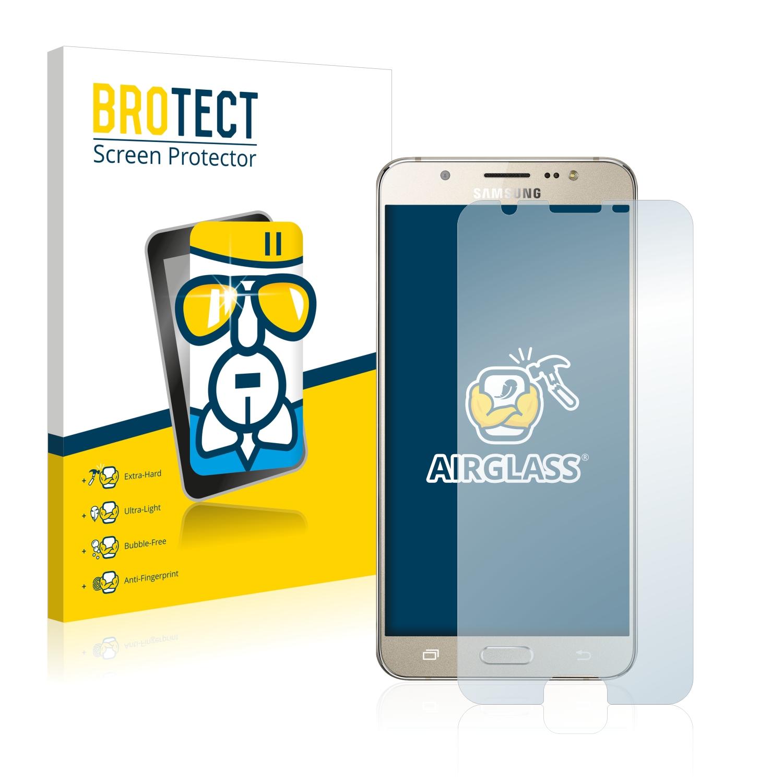 BROTECT AirGlass čirá skleněná fólie pro Samsung Galaxy J7 Prime