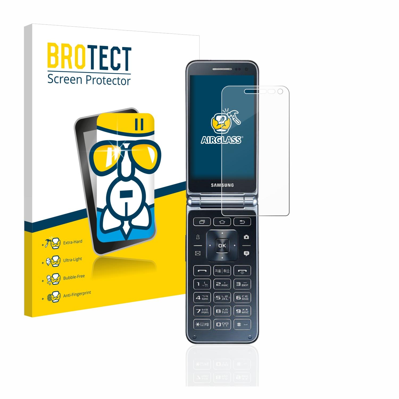 BROTECT AirGlass čirá skleněná fólie pro Samsung Galaxy Folder 2