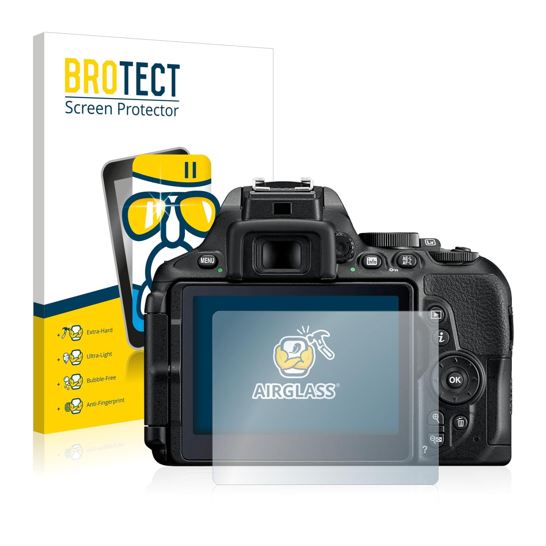 BROTECT AirGlass čirá skleněná fólie pro Nikon D5600