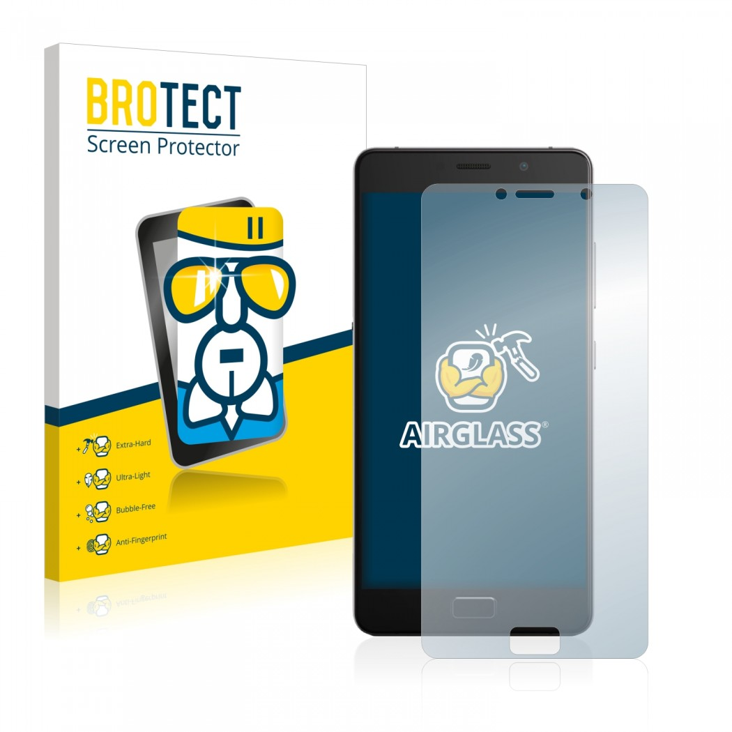 BROTECT® AirGlass® Glass Screen Protector for Lenovo P2