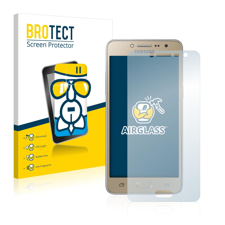 BROTECT AirGlass čirá skleněná fólie pro Samsung Galaxy J2 Prime