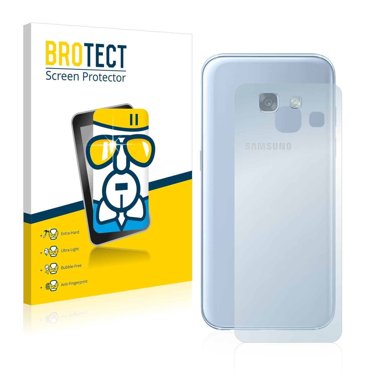 BROTECT AirGlass čirá skleněná fólie pro Samsung Galaxy A3 2017 (zadní strana)