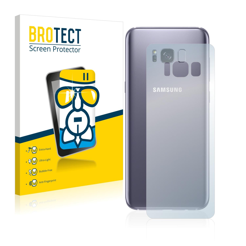 Airglass ochranné sklo pro Samsung Galaxy S8 Plus (Zadní strana)