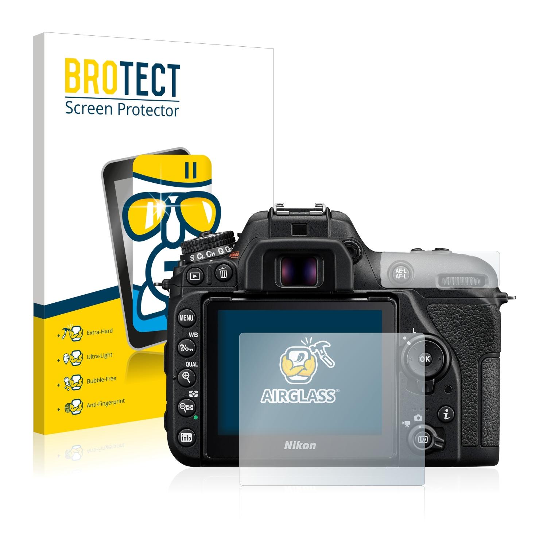 BROTECT AirGlass čirá skleněná fólie pro Nikon D7500
