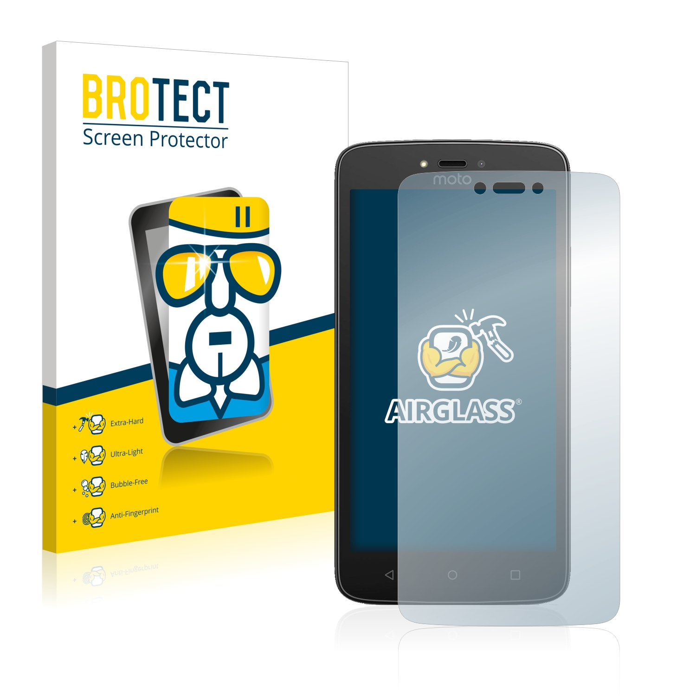 BROTECT AirGlass čirá skleněná fólie pro Motorola Moto C