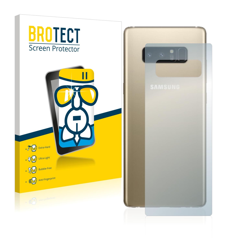BROTECT AirGlass čirá skleněná fólie pro Samsung Galaxy Note 8 (zadní strana)