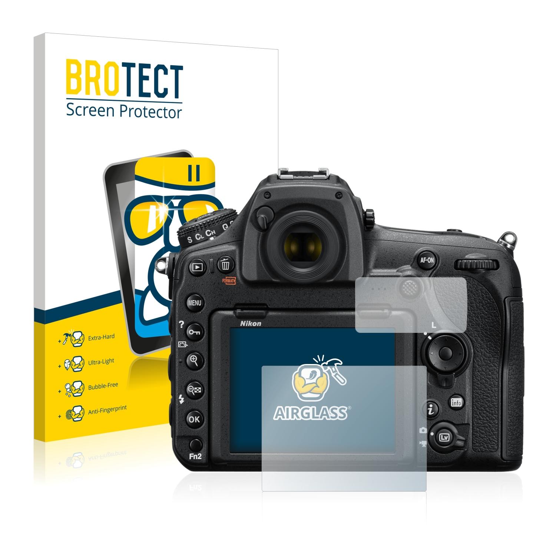 BROTECT AirGlass čirá skleněná fólie pro Nikon D850