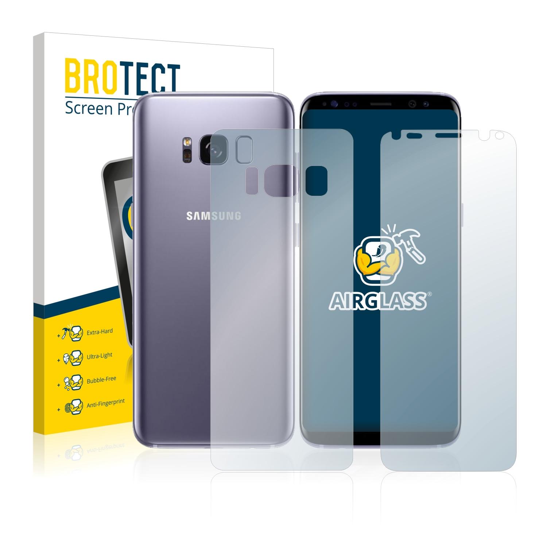Airglass ochranné sklo pro Samsung Galaxy S8 (Přední + Zadní strana)