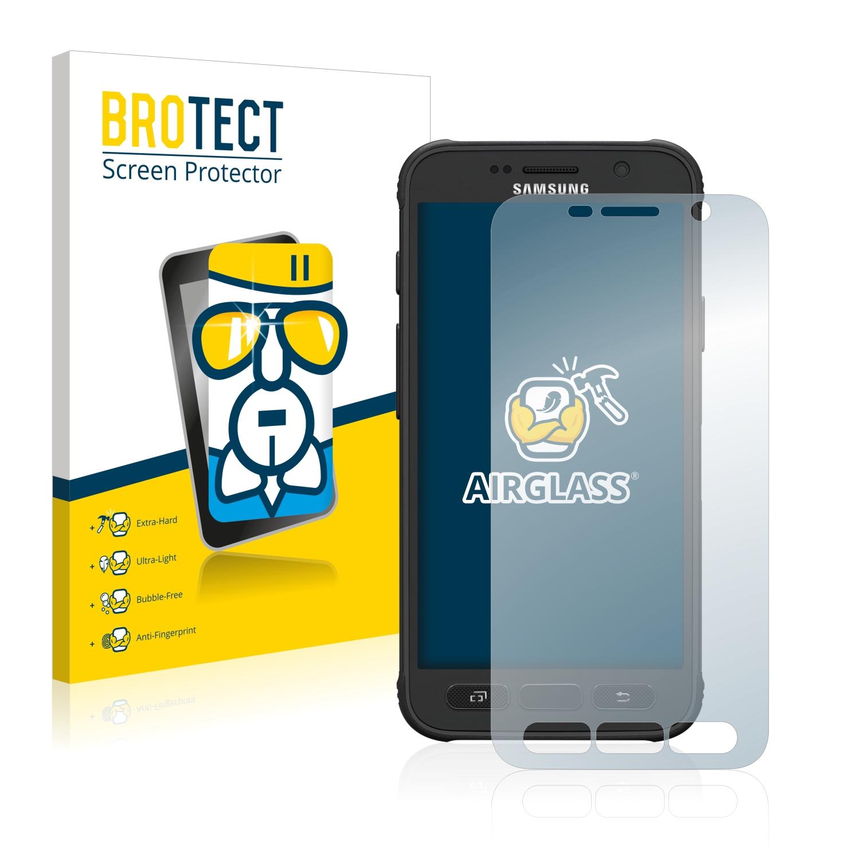 BROTECT AirGlass čirá skleněná fólie pro Samsung Galaxy S7 Active