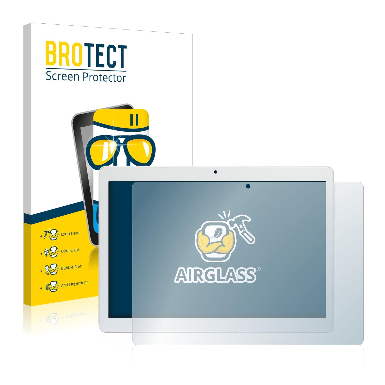 BROTECT AirGlass čirá skleněná fólie pro Mediacom SmartPad Go 10 M-SP1AGO3G