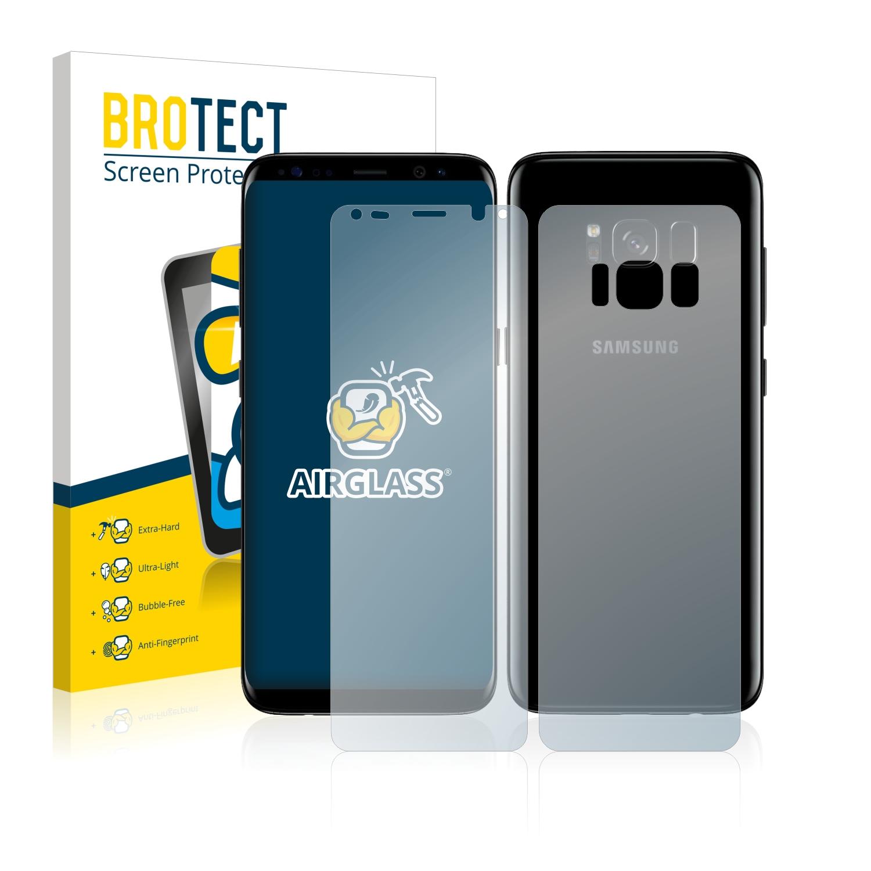 Airglass ochranné sklo pro Samsung Galaxy S8 Plus (Přední + Zadní strana)