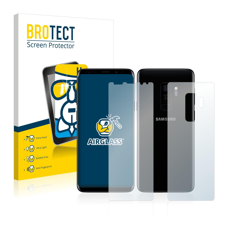 Airglass ochranné sklo pro Samsung Galaxy S9 Plus (Přední + Zadní strana)