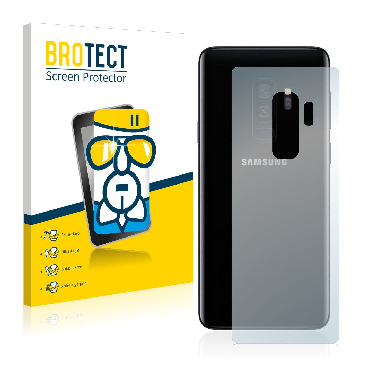Airglass ochranné sklo pro Samsung Galaxy S9 Plus (Zadní strana)