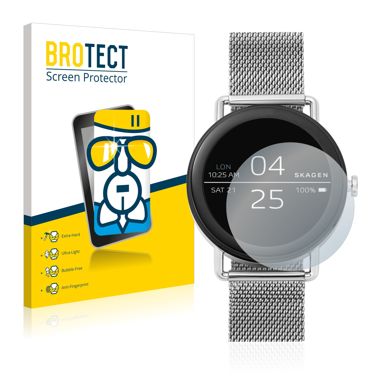 BROTECT AirGlass čirá skleněná fólie pro Skagen Smartwatch Falster 42mm