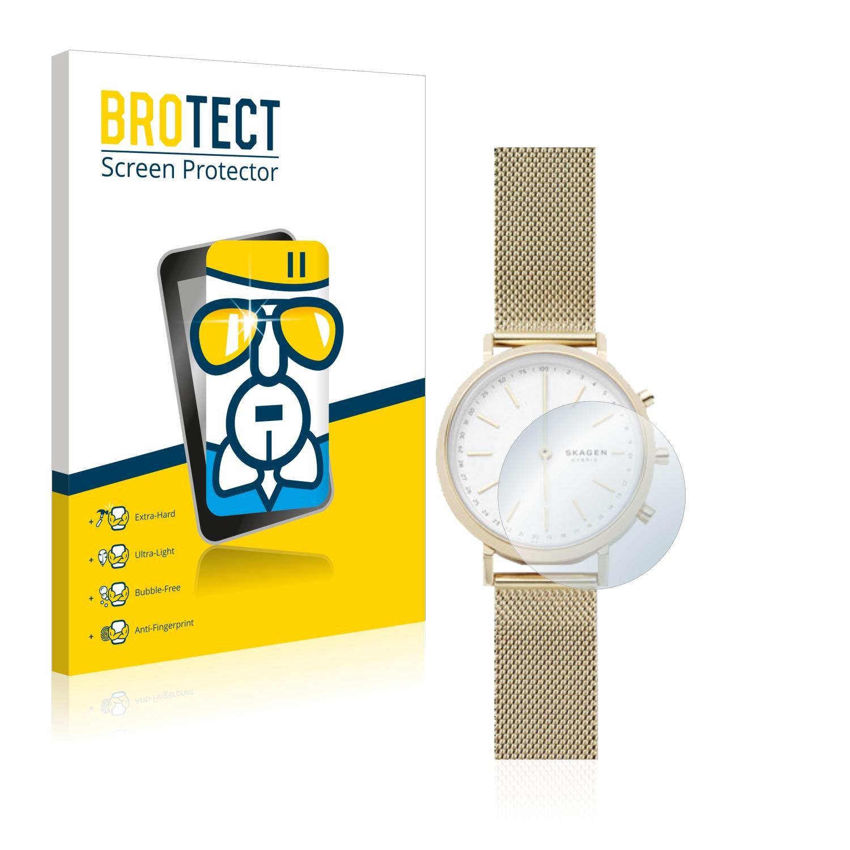 BROTECT AirGlass čirá skleněná fólie pro Skagen Hybrid Smartwatch Mini Hald (34 mm)
