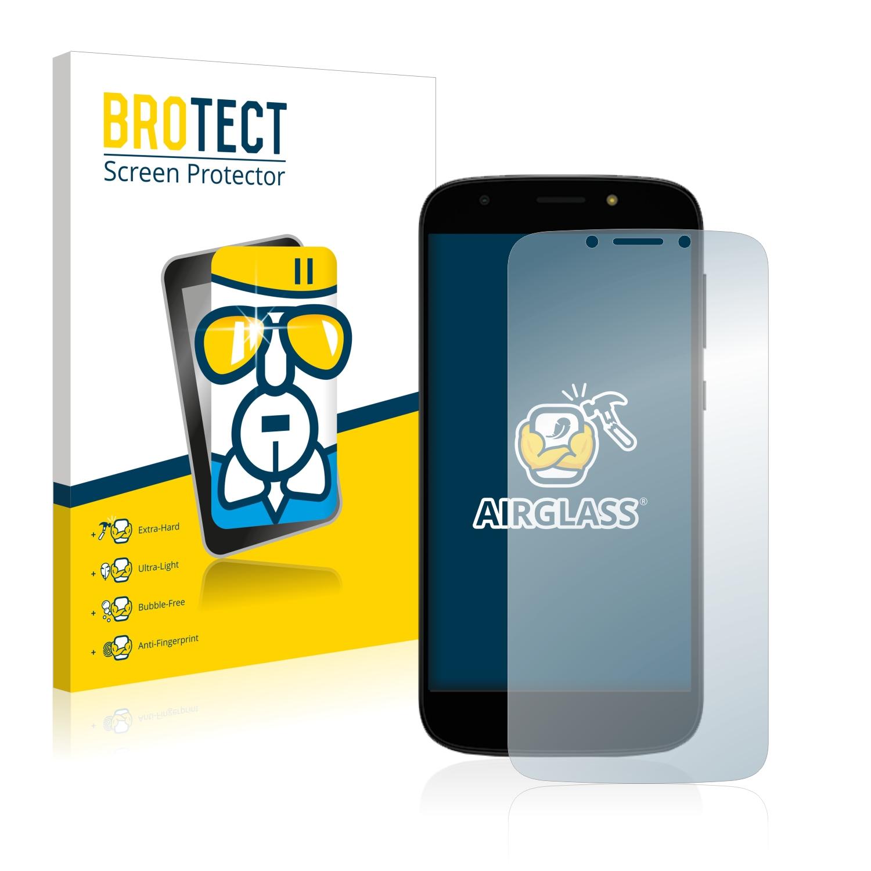BROTECT AirGlass čirá skleněná fólie pro Motorola Moto E5 Play
