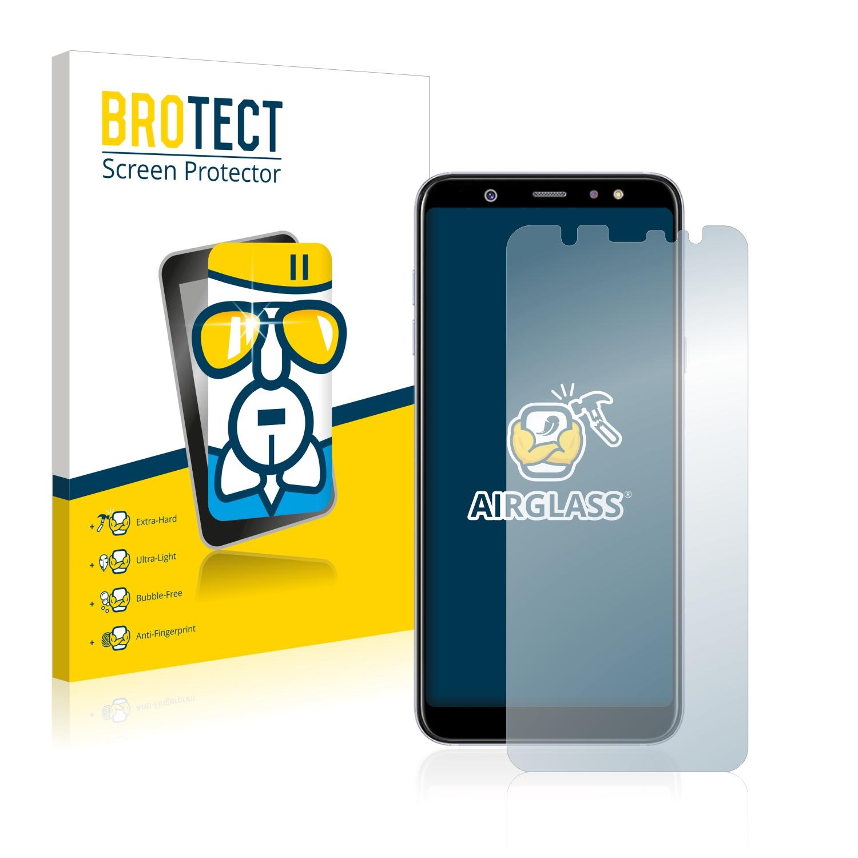 BROTECT AirGlass čirá skleněná fólie pro Samsung Galaxy A6 Plus 2018